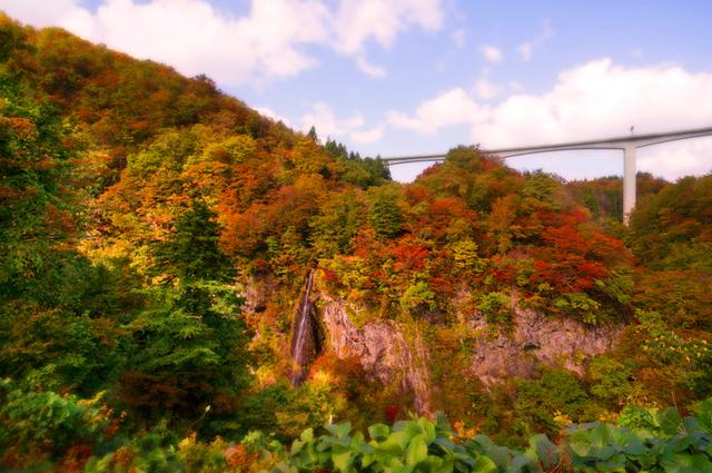01梵字川渓谷米の粉の滝s★DSC02734.jpg