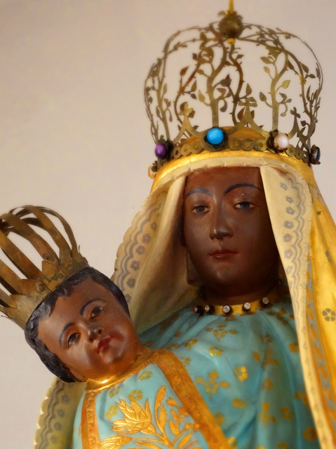 58鶴岡カトリック教会黒いマリア★DSC05982.JPG