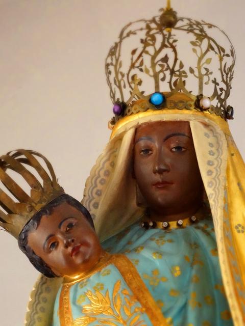 58鶴岡カトリック教会黒いマリアs★DSC05982.jpg